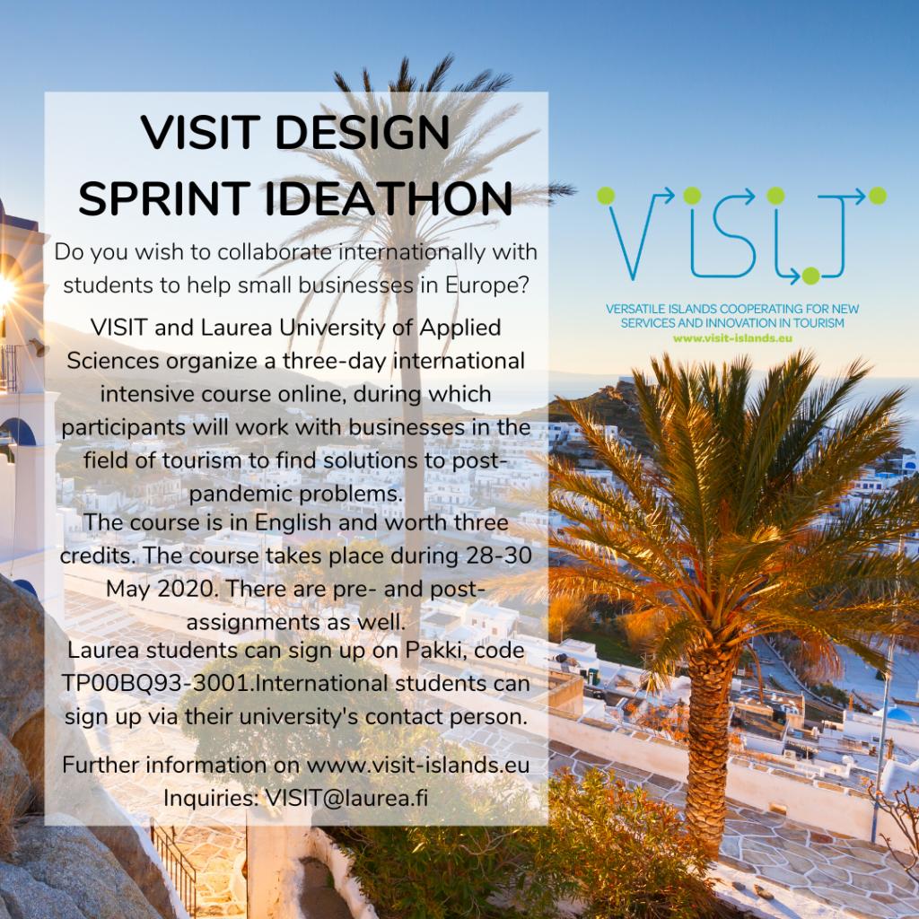 Ideathon Corona Tourism